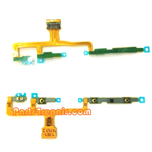 Side Key Flex Cable for Sony Xperia ZL L35H from www.parts4repair.com