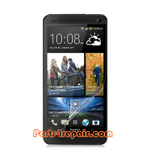 Clear Screen Protector Shield Film for HTC One