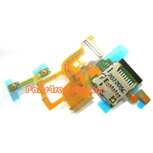Memory Contact Holder Flex Cable for Sony Xperia ion LTE LT28