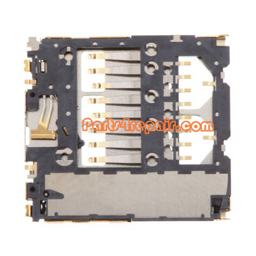 We can offer SD Card Holder Contact for Samsung Galaxy S II I9100