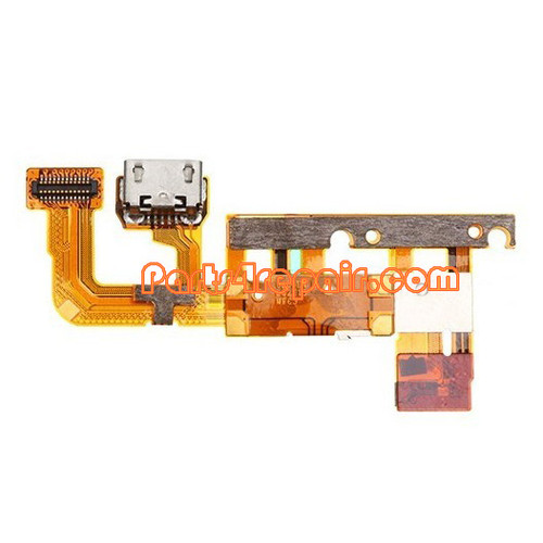 Dock Charging Flex Cable for Huawei Ascend P6