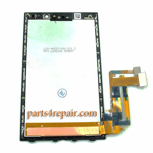 Complete Screen Assembly for BlackBerry Z10(LCD-46537-002/111)