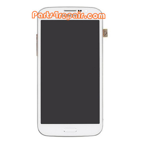 Complete Screen Assembly with Bezel for Samsung Galaxy Mega 5.8 I9150 -White