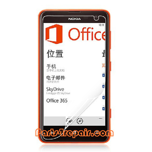 Clear Screen Protector Shield Film for Nokia Lumia 625