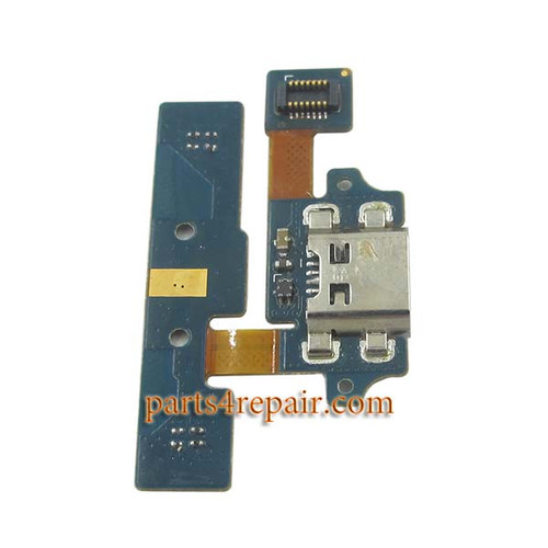 Dock Charging Flex Cable for LG Optimus G Pro F240L from www.parts4repair.com