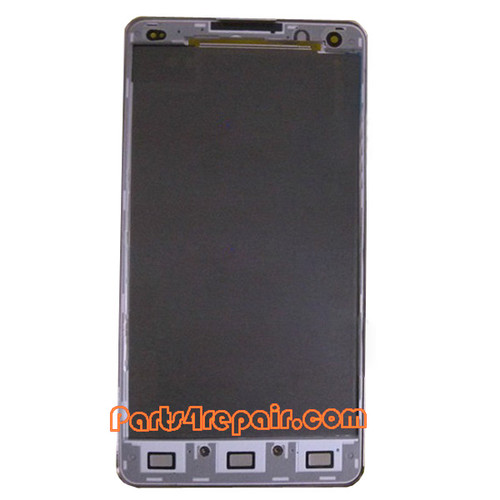 Front Housing Cover for LG Optimus G F180 -White from www.parts4repair.com