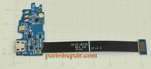 Dock Charging Flex Cable for Samsung Galaxy Express I8730 from www.parts4repair.com