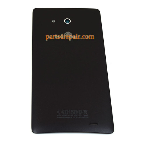 Back Cover for Huawei Ascend Mate MT1-U06 -Black