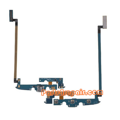 Dock Charging Flex Cable for Samsung I9295 Galaxy S4 Active