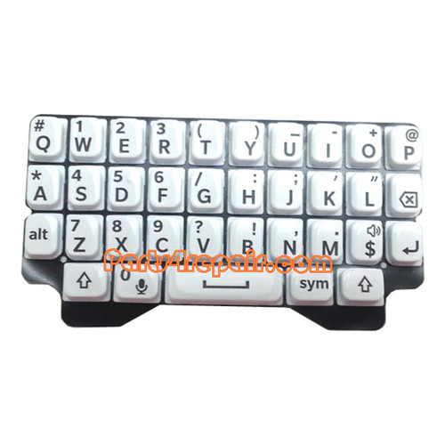 Keypad Membrane for BlackBerry Q5 -White