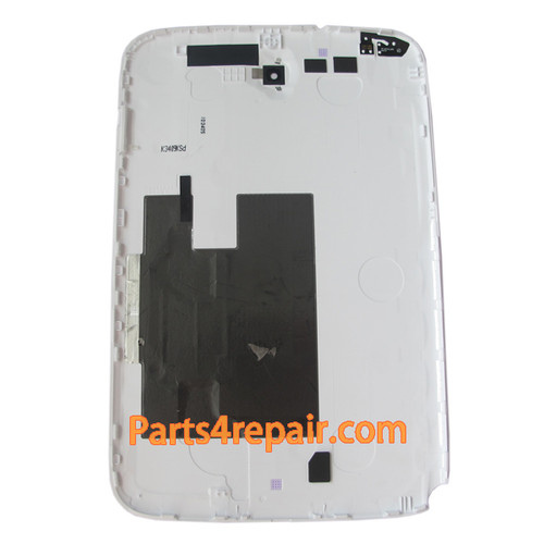 Back Cover for Samsung Galaxy Note 8.0 N5110 -White (WIFI Version)