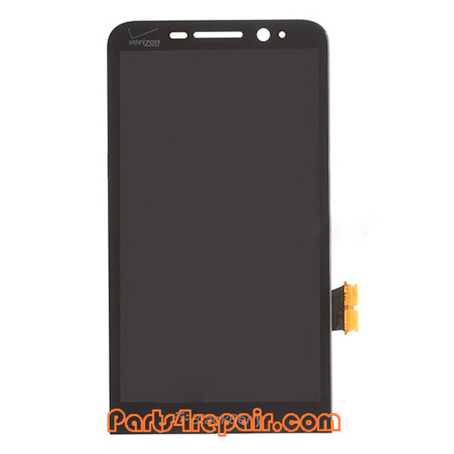 Complete Screen Assembly for BlackBerry Z30 (for Verizon) -Black