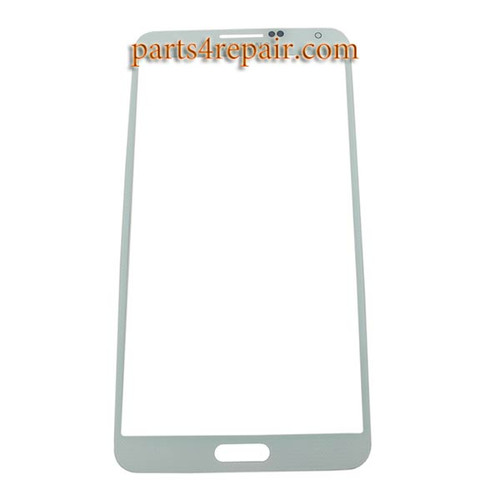 Front Glass Lens for Samsung Galaxy Note 3 -White