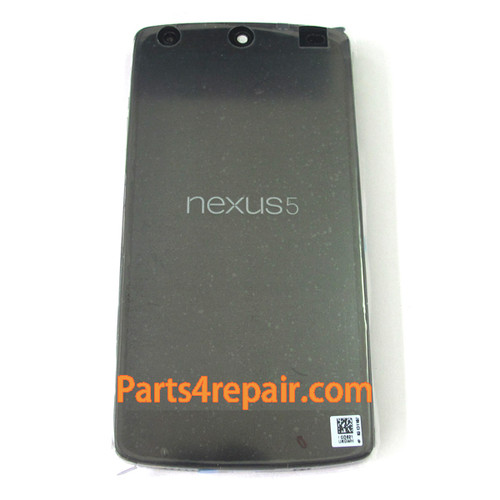 Complete Screen Assembly with Battery & Bezel for LG Nexus 5 D820 from www.parts4repair.com
