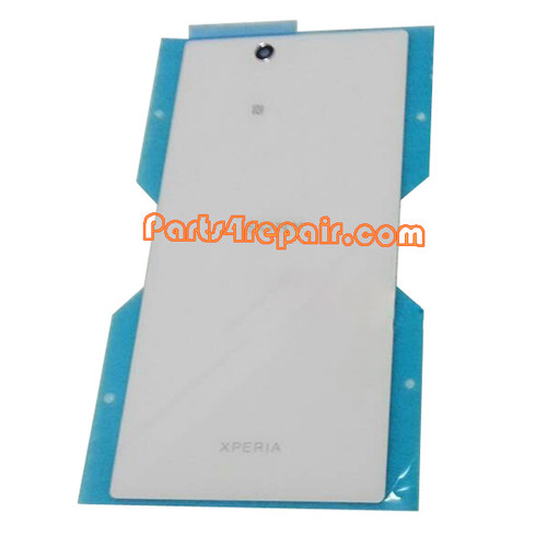 Back Cover OEM for Sony Xperia Z Ultra XL39H -White