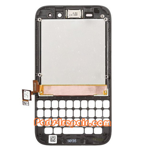 We can offer Complete Screen Assembly with Frame for BlackBerry Q5 -Black