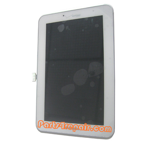 Complete Screen Assembly for Samsung Galaxy Tab 7.0 P3110 (Verizon) from www.parts4repair.com