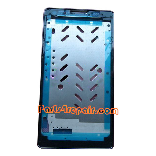 We can offer Front Housing Cover for Huawei Ascend G700 -Black
