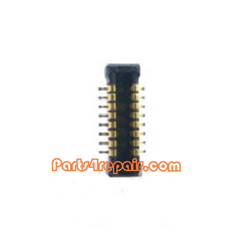 Ear Speaker FPC Connector for Samsung I9500 Galaxy S4 from www.parts4repair.com