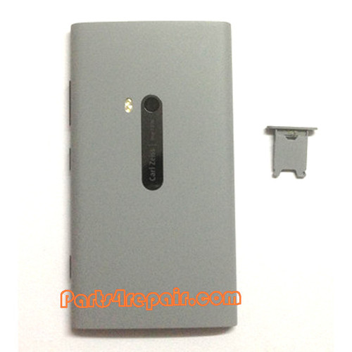 Back Housing Assembly Cover with NFC for Nokia Lumia 920 -Grey from www.parts4repair.com