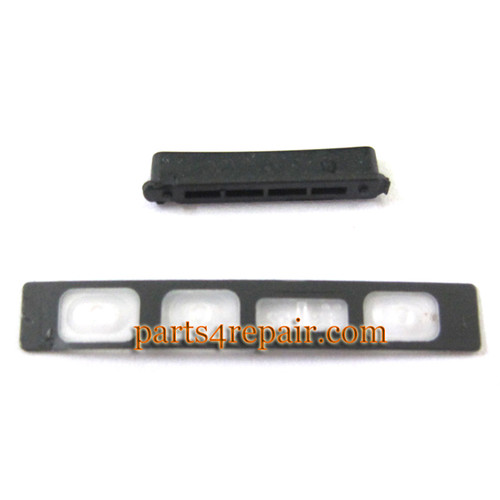 Volume Button for Sony Xperia Z1 L39H -Black