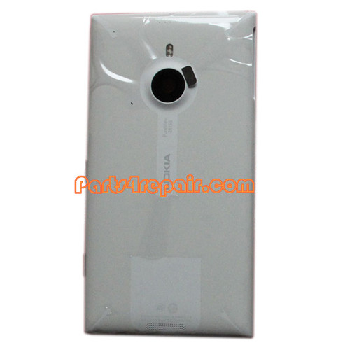 Back Housing Assembly Cover with Wireless Charging Coil for Nokia Lumia 1520 -White