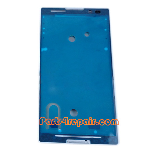 Front Housing Cover for Sony Xperia C S39H -White