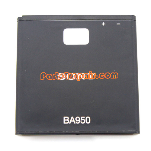 2300mAh BA950 Battery for Sony Xperia ZR M36H from www.parts4repair.com