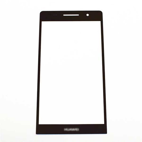 Front Gorilla Glass for Huawei Ascend P6 -Black