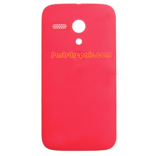 Back Cover for Motorola Moto G XT1032 -Red