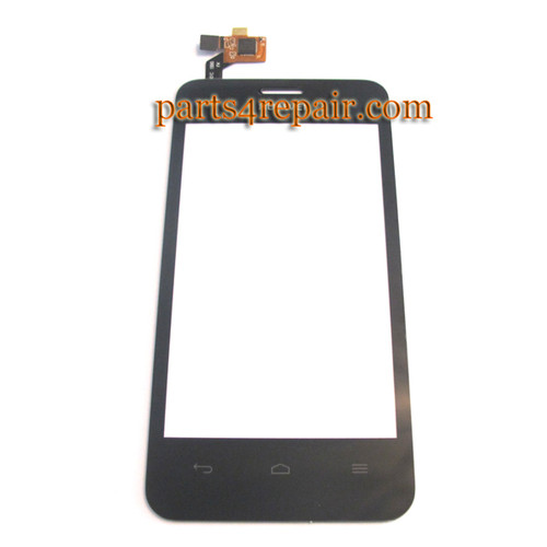 Touch Screen Digitizer for Huawei Ascend Y320 -Black from www.parts4repair.com