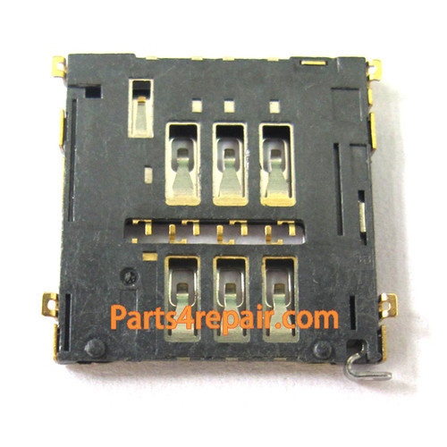 SIM Contact Holder for LG Nexus 4 E960 from www.parts4repair.com