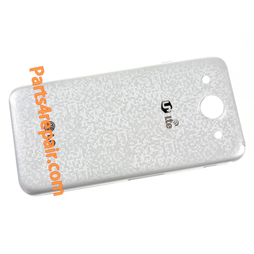 Back Cover for LG Optimus G Pro F240 -White