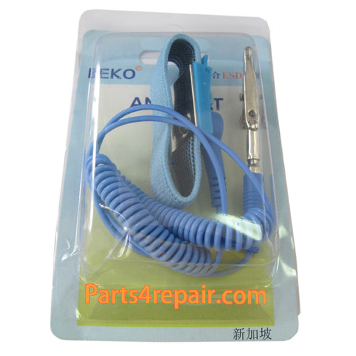 Anti Static Electric Wristband with Cord  from www.parts4repair.com