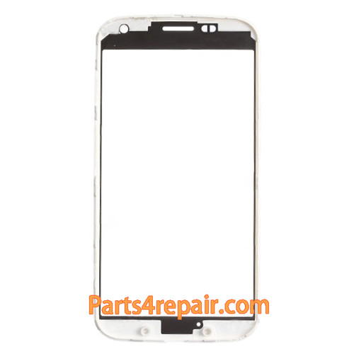 We can offer Front Glass with Bezel for Motorola Moto X -White