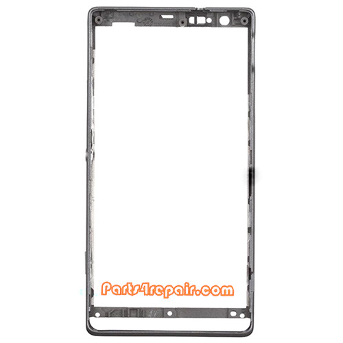 We can offer Front Bezel for Sony Xperia SP M35H -Black