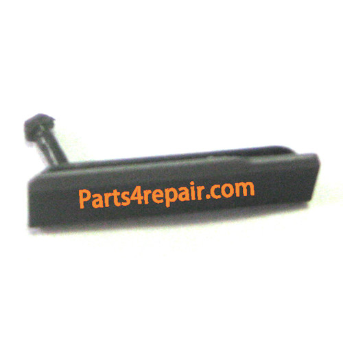 USB Cover for Sony Xperia Z1 L39H -Black from www.parts4repair.com