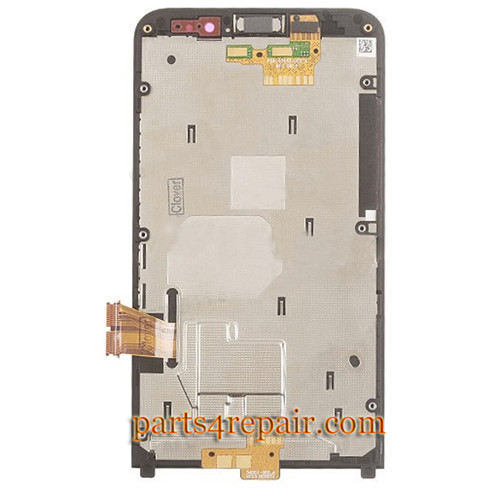 We can offer Complete Screen Assembly with Front Bezel for BlackBerry Z30 -Black