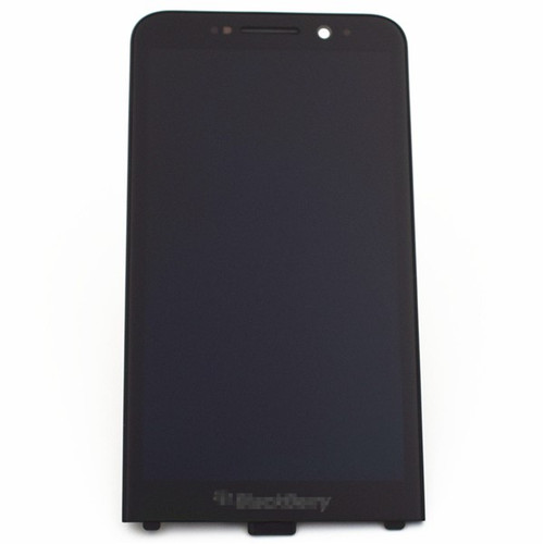 Complete Screen Assembly with Front Bezel for BlackBerry Z30 -Black