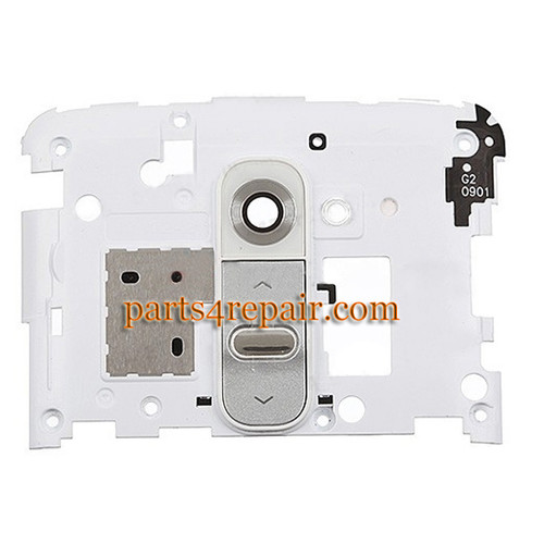 Camera Cover for LG G2 D802 D800 D803 -White