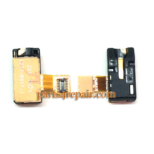 Earphone Jack Flex Cable for Sony Xperia T2 Ultra xm50h from www.parts4repair.com