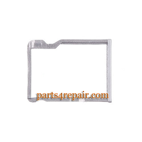 Micro SD Card Tray for HTC One M8 -Silver from www.parts4repair.com
