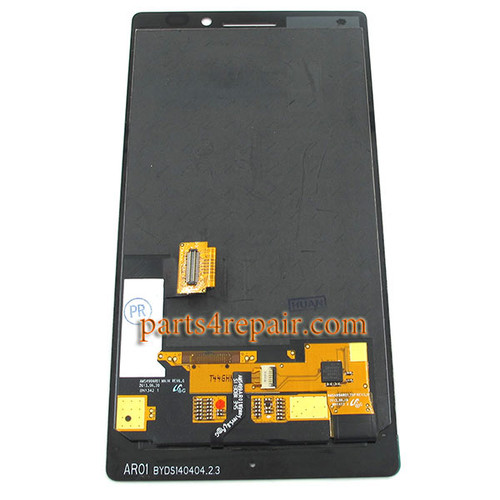 Complete Screen Assembly without Bezel for Nokia Lumia Icon 929