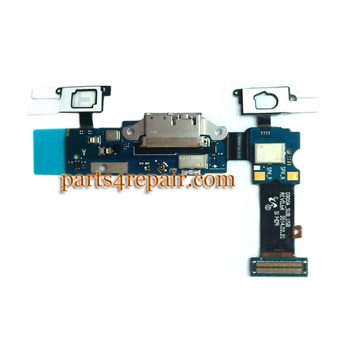 Dock Charging Flex Cable for Samsung Galaxy S5 G900A from www.parts4repair.com