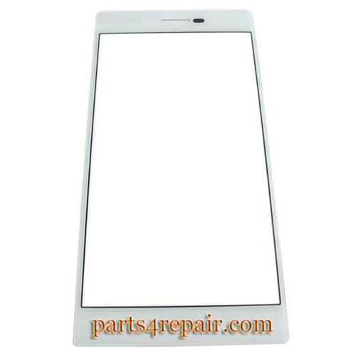Front Glass for Huawei Ascend P7 -White from www.parts4repair.com