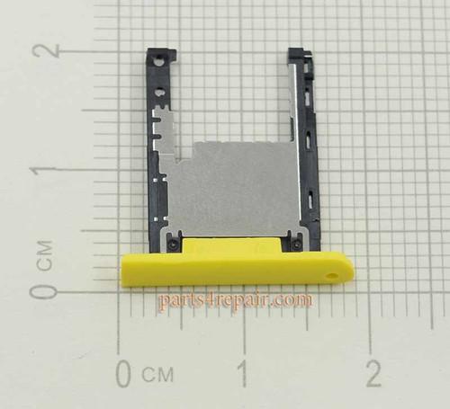 SD Tray for Nokia Lumia 1520 -Yellow