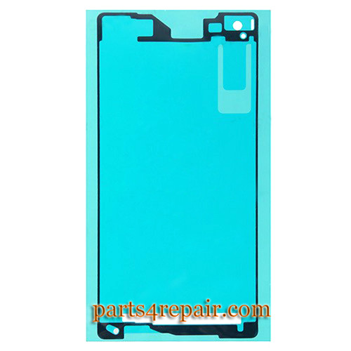 Front Housing Adhesive Sticker for Sony Xperia Z2 from www.parts4repair.com