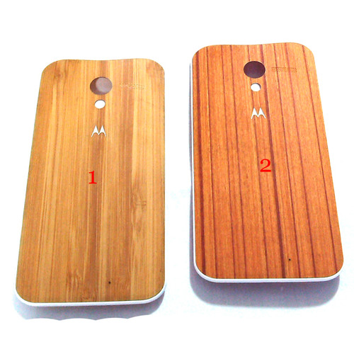 Back Cover for Motorola Moto X -Wooden from www.parts4repair.com