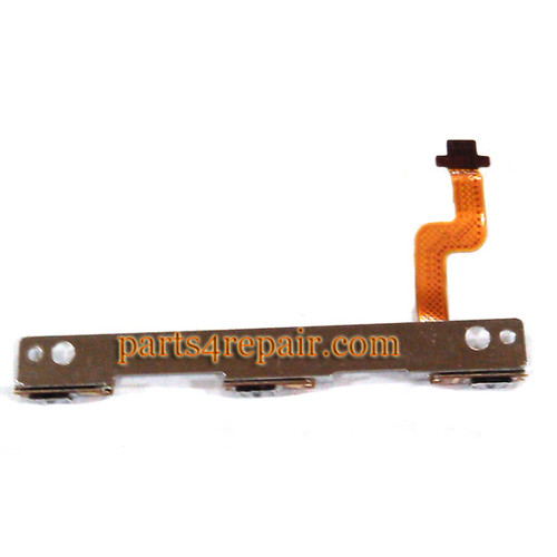 Side Key Flex Cable for HTC One Max from www.parts4repair.com
