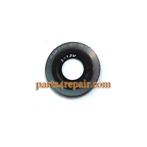 Camera Ring & Camera Lens for Motorola Moto X XT1058 -Black(Used) from www.parts4repair.com